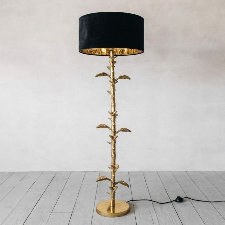 Jack Gold Floor Lamp - Thumbnail