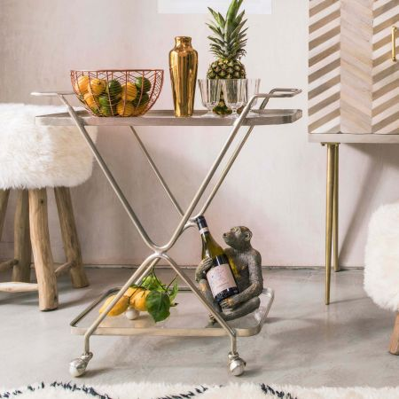 Silver Hourglass Trolley