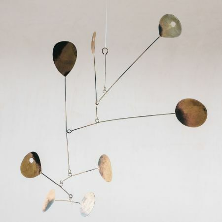 Burnt Brass Hanging Mobile