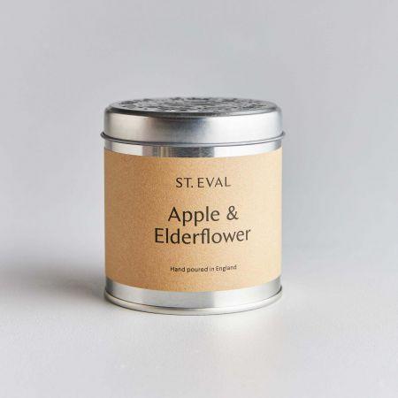 Apple Elder Tin Candle