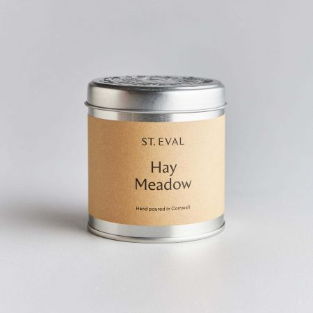 Hay Meadow Tin Candle