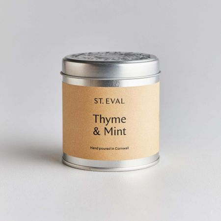 Thyme Mint Tin Candle