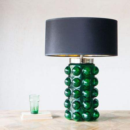 Green Bobble Table Lamp