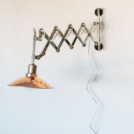 Wyatt Scissor Wall Sconce