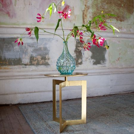 Trudi Brass Side Table