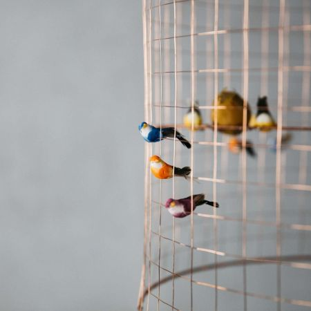 Voliéres Bird Cage Pendant
