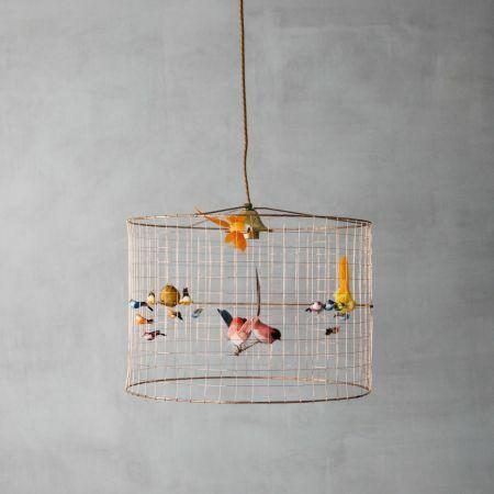 Voliéres Bird Cage Chandelier - Thumbnail