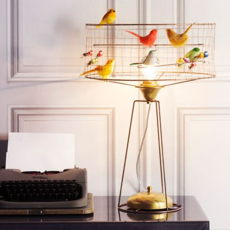 Voliéres Bird Cage Lamp - Thumbnail