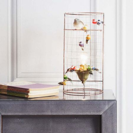 Voliéres Mini Bird Cage Lamp