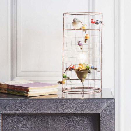 Voliéres Mini Bird Cage Lamp