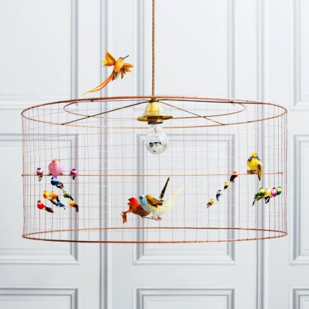 Voliéres Medium Bird Cage Chandelier - Thumbnail