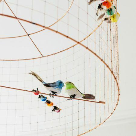 Voliéres Medium Bird Cage Pendant