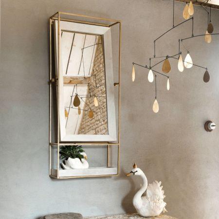 Ashford Portrait Mirror with Tray