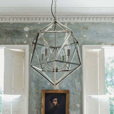Polyhedron Chandelier