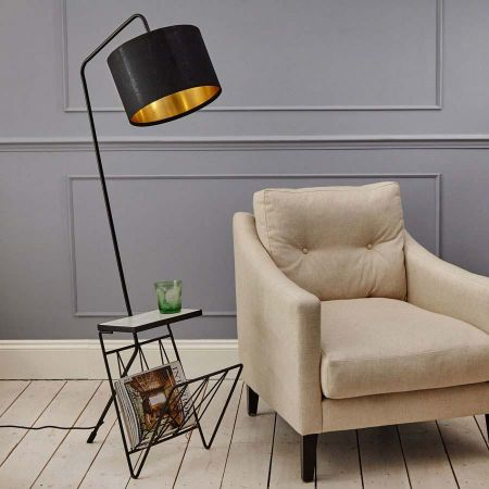 Magazine Rack Floor Lamp