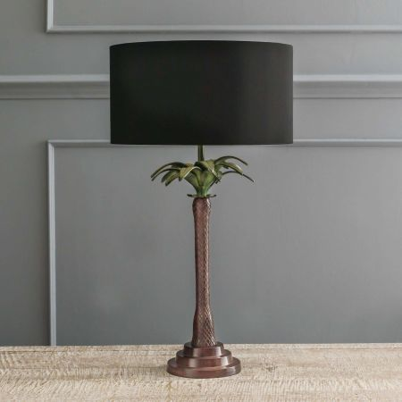 Tall Palm Tree Table Lamp
