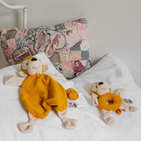 Monty Monkey Yellow Soother