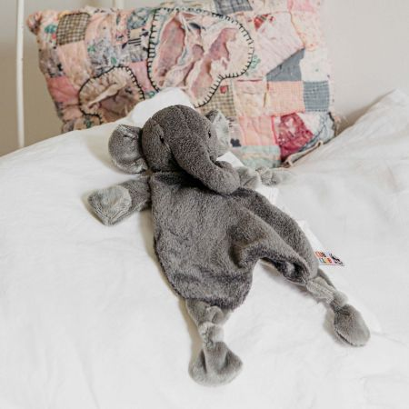 Elena Elephant Grey Soother