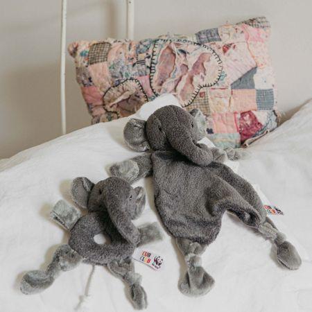 Elena Elephant Grey Soother
