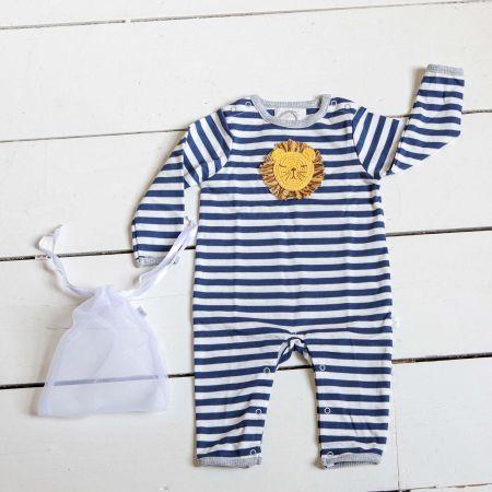 Striped Babygrow