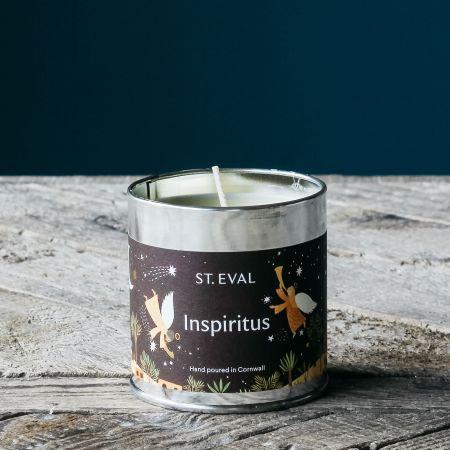 Inspiritus Christmas Tin Candle