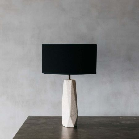 Macie Marble Bedside Table Lamp