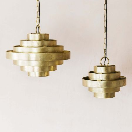 Halo Brass Pendants