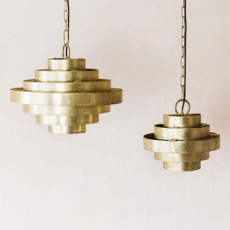 Halo Brass Pendants