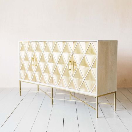 Ophelia Four Door Sideboard