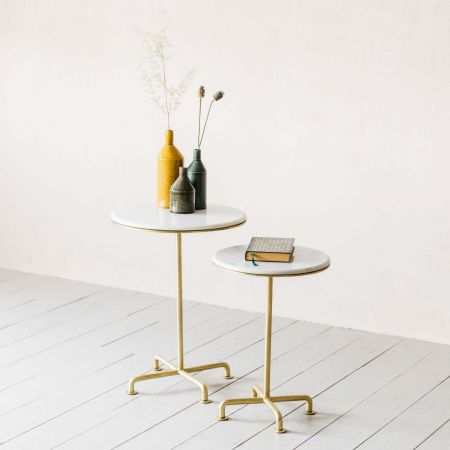 Ada Set of Two Side Tables