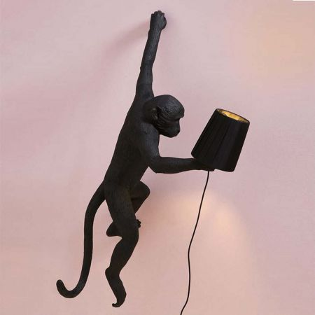 Black Monkey Light Lamp Shade