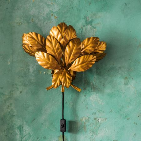 Leaves Wall Sconce