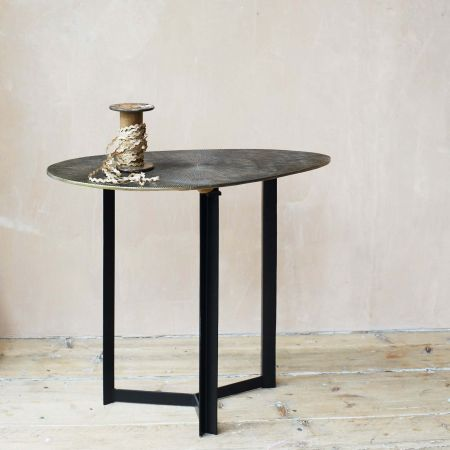 Ryker Oval Side Table