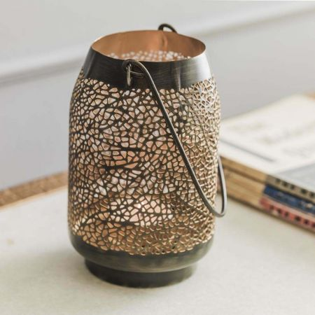 Moroccan Tea Light Hanging Lantern