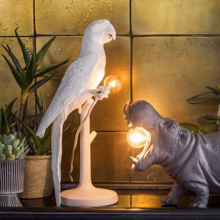 Sitting Parrot Lamp
