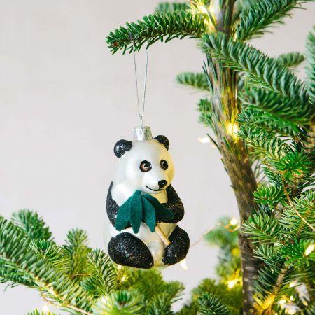 Glitter Panda Decoration