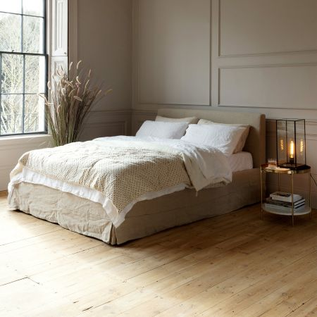 Carina Natural Linen Beds