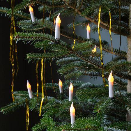 Christmas Candle Garland