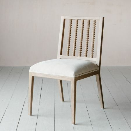 Abacus Linen Dining Chair