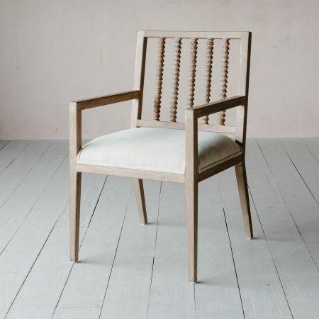 Abacus Linen Armchair