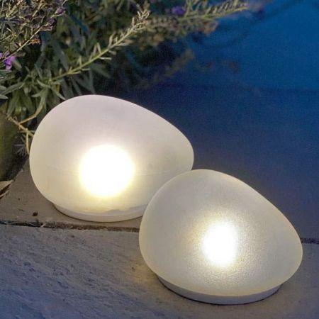 Solar Glass Stones