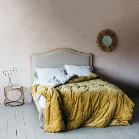 Luna Natural Linen Beds