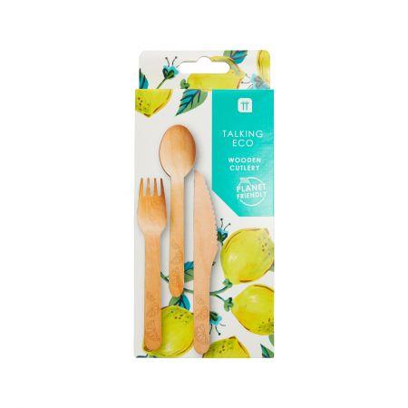 Lemons Wooden Cutlery