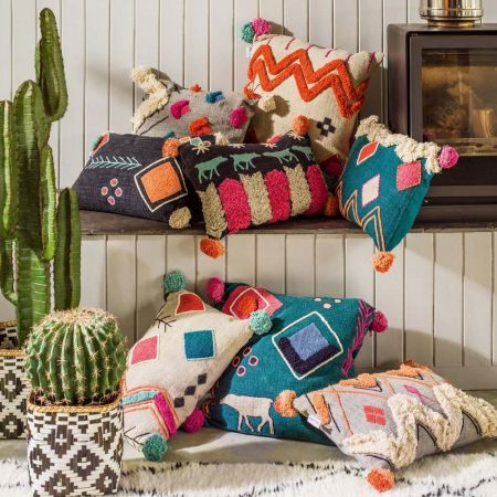 Kirra Tribal Cushion