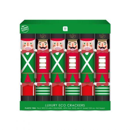 Pack of Six Nutcracker Crackers