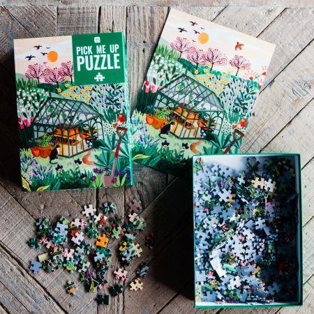 500 Piece Garden Puzzle