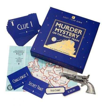 Murder Mystery Night Train
