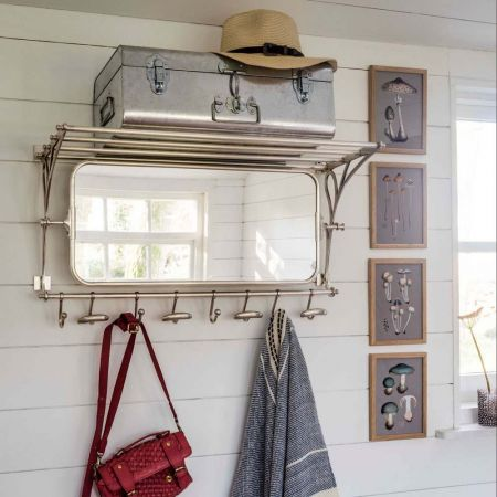 Otto Luggage Racks with Mirror