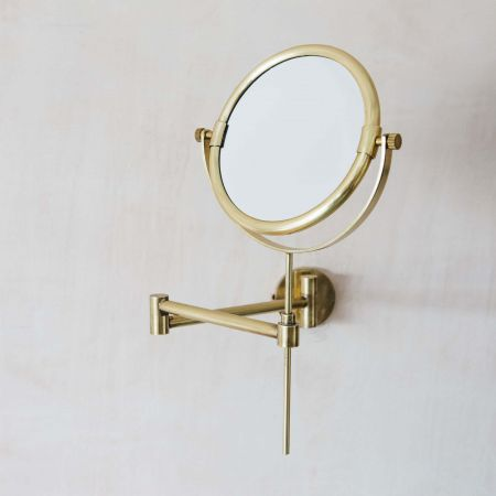 Ovin Antique Gold Extension Wall Mirror