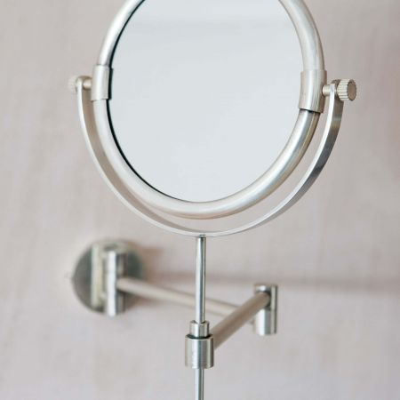 Ovin Antique Silver Extension Wall Mirror